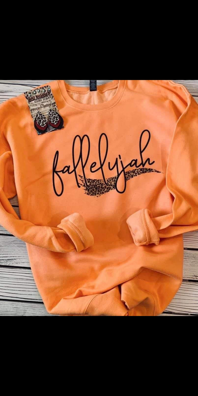 Fallelujah Sweatshirt - Also in Plus Size