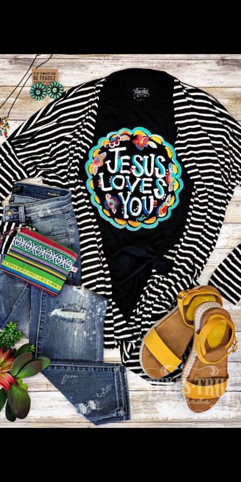 Jesus Love You Top - Also in Plus Size
