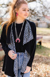 The Final Round Leopard Bronc Cardigan - Also in Plus Size
