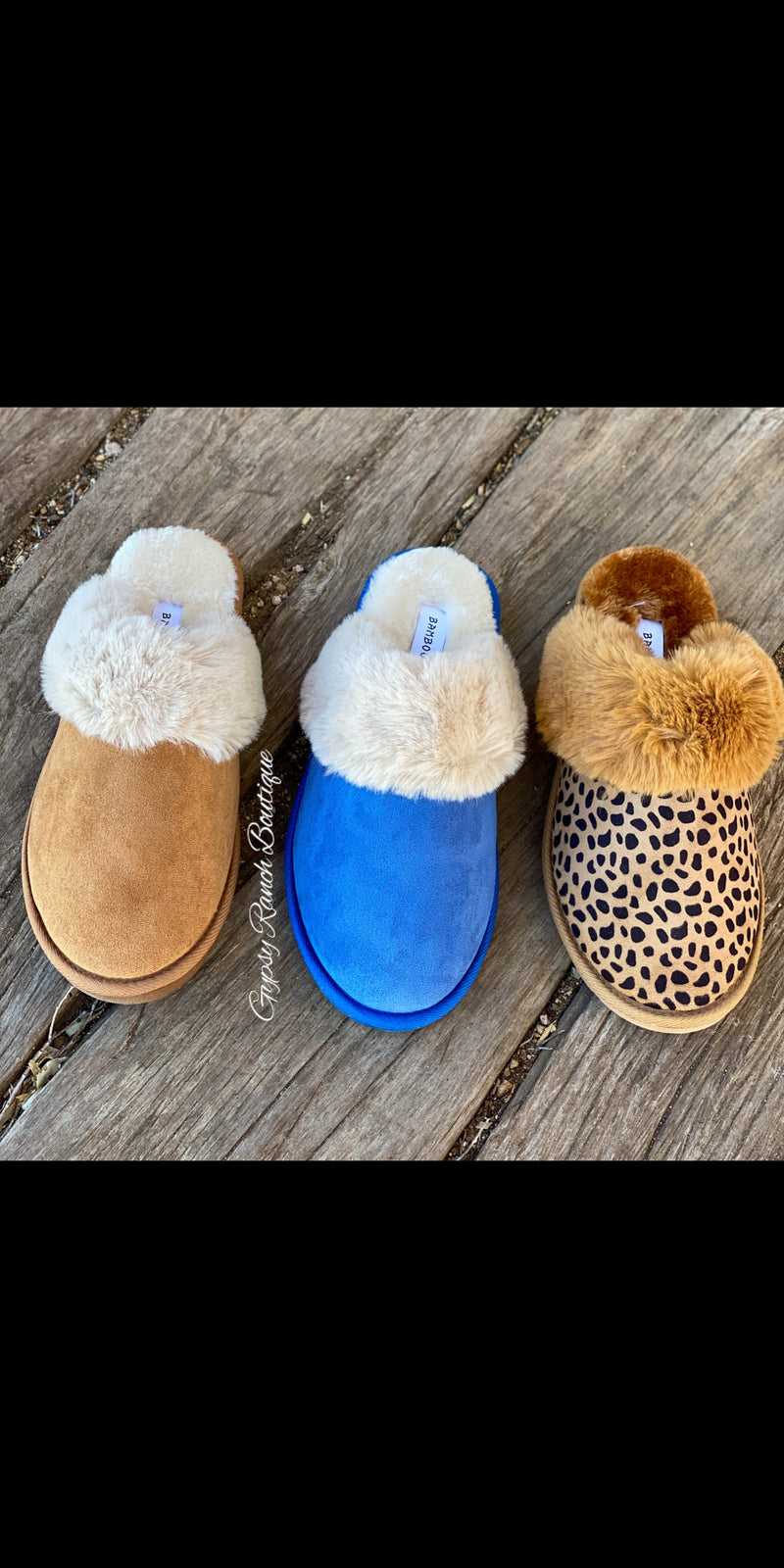 Fireside Cozy Slippers