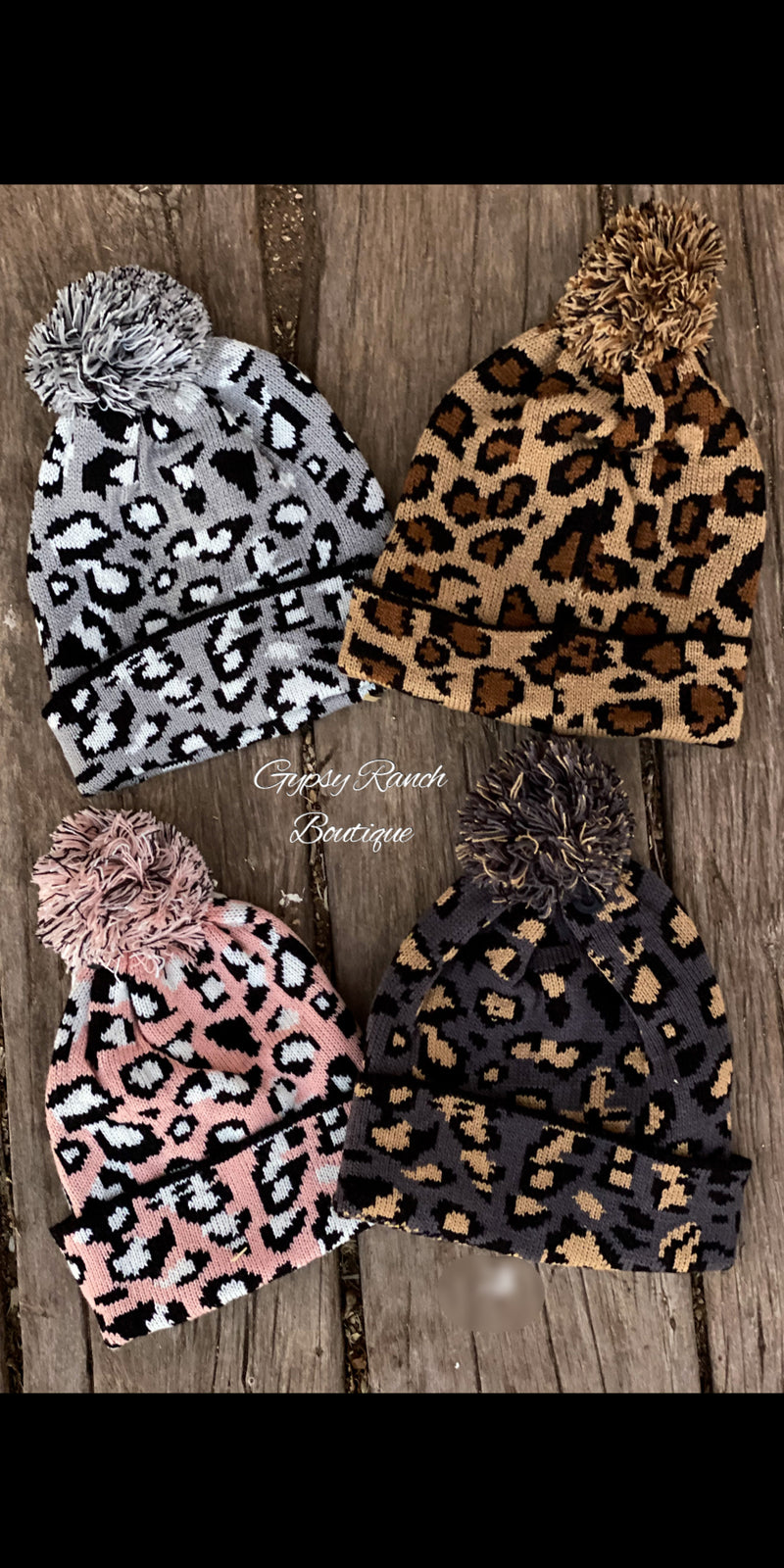 Black Friday Leopard Craze Beanie