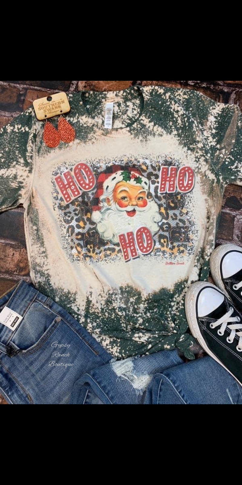Ho Ho Ho Santa Top - Also in Plus Size