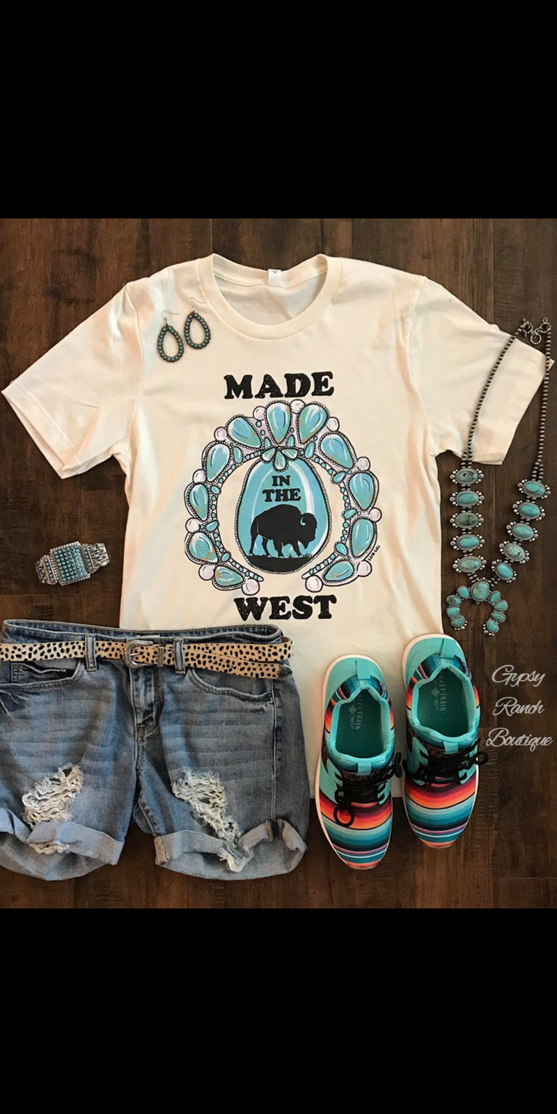 Made in the West Top - Also in Plus Size
