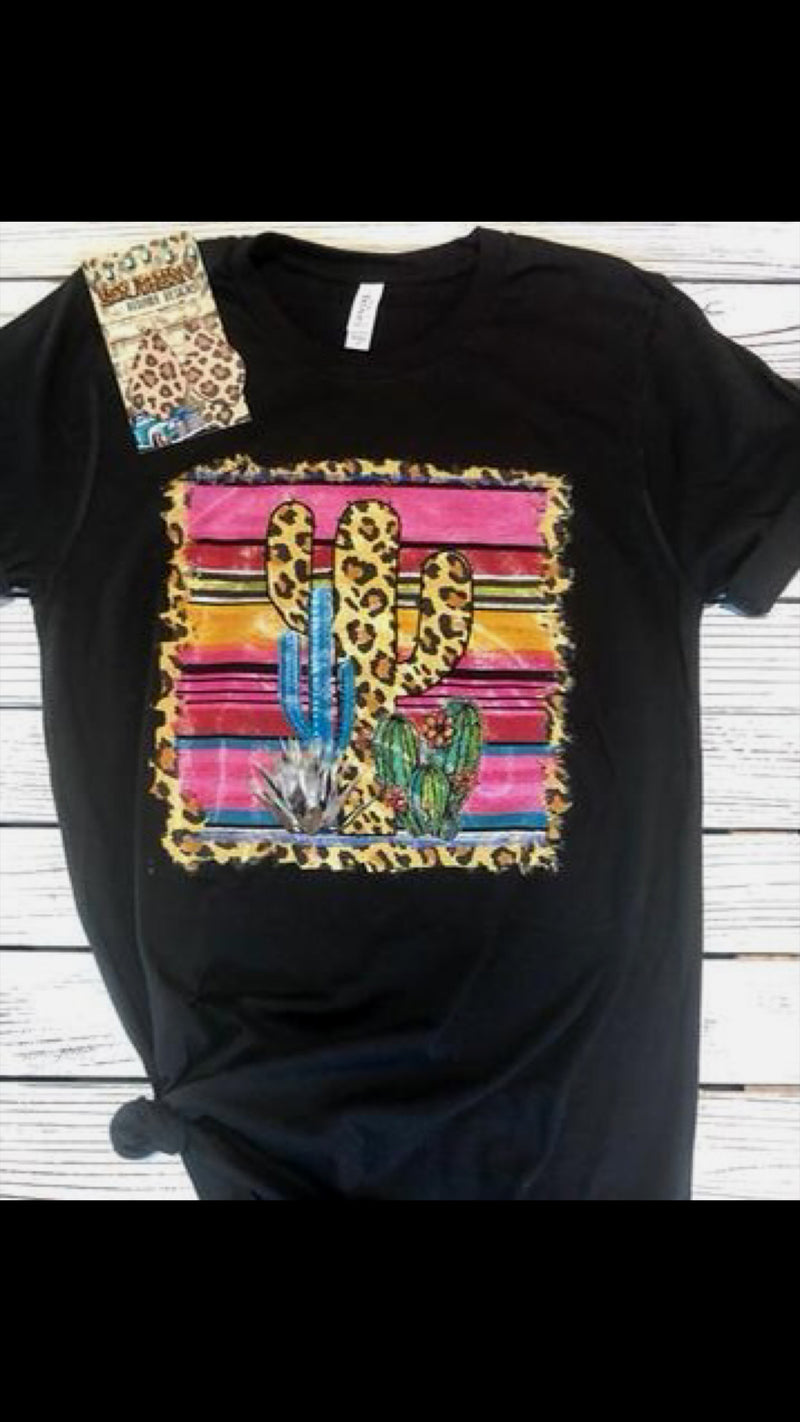 Cactus Crossover Serape Top - Also in Plus Size