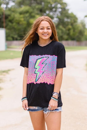 The Thunder Rolls Leopard Top - Also in Plus Size