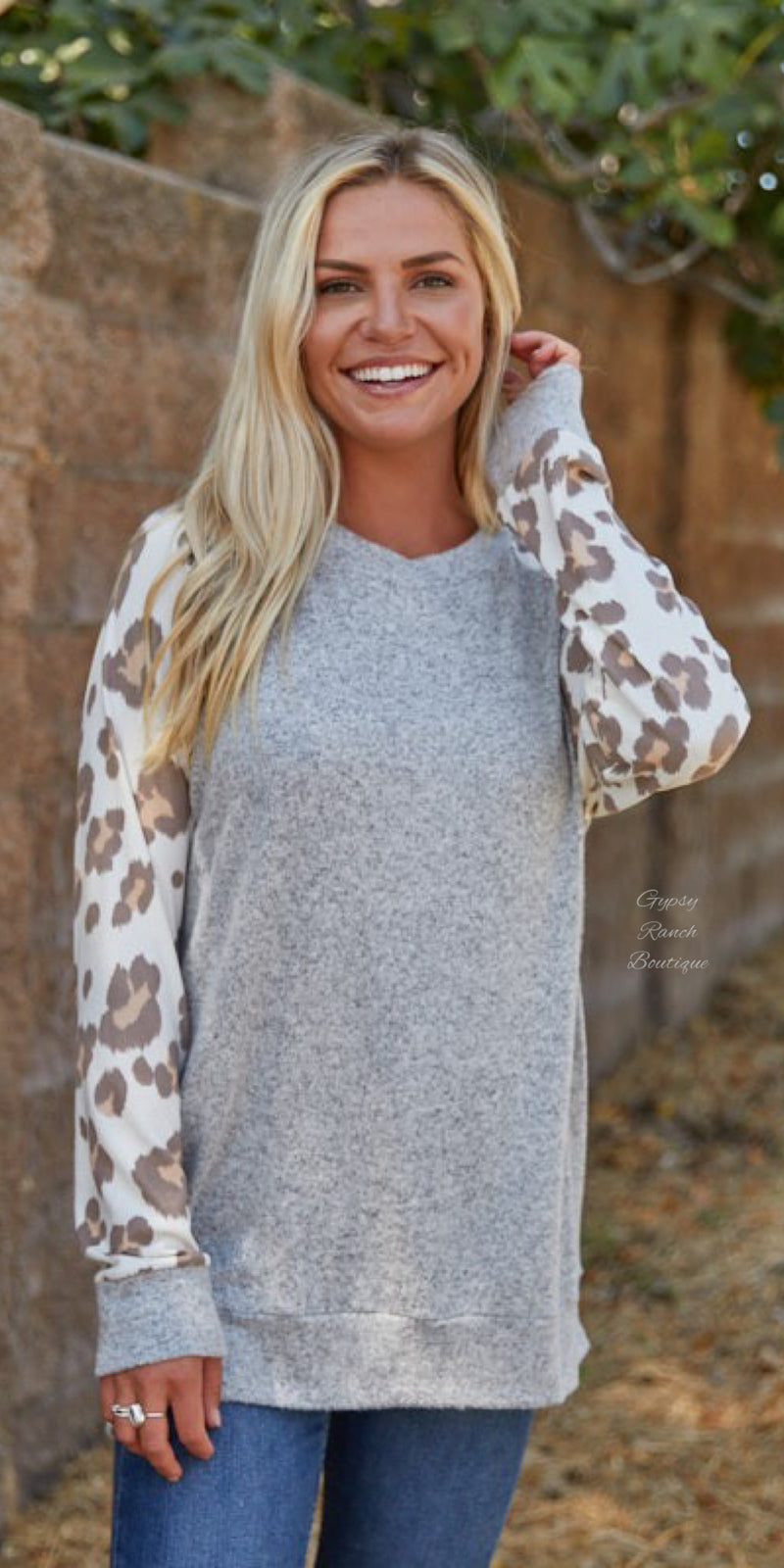 Perryton Leopard Top - Also in Plus Size