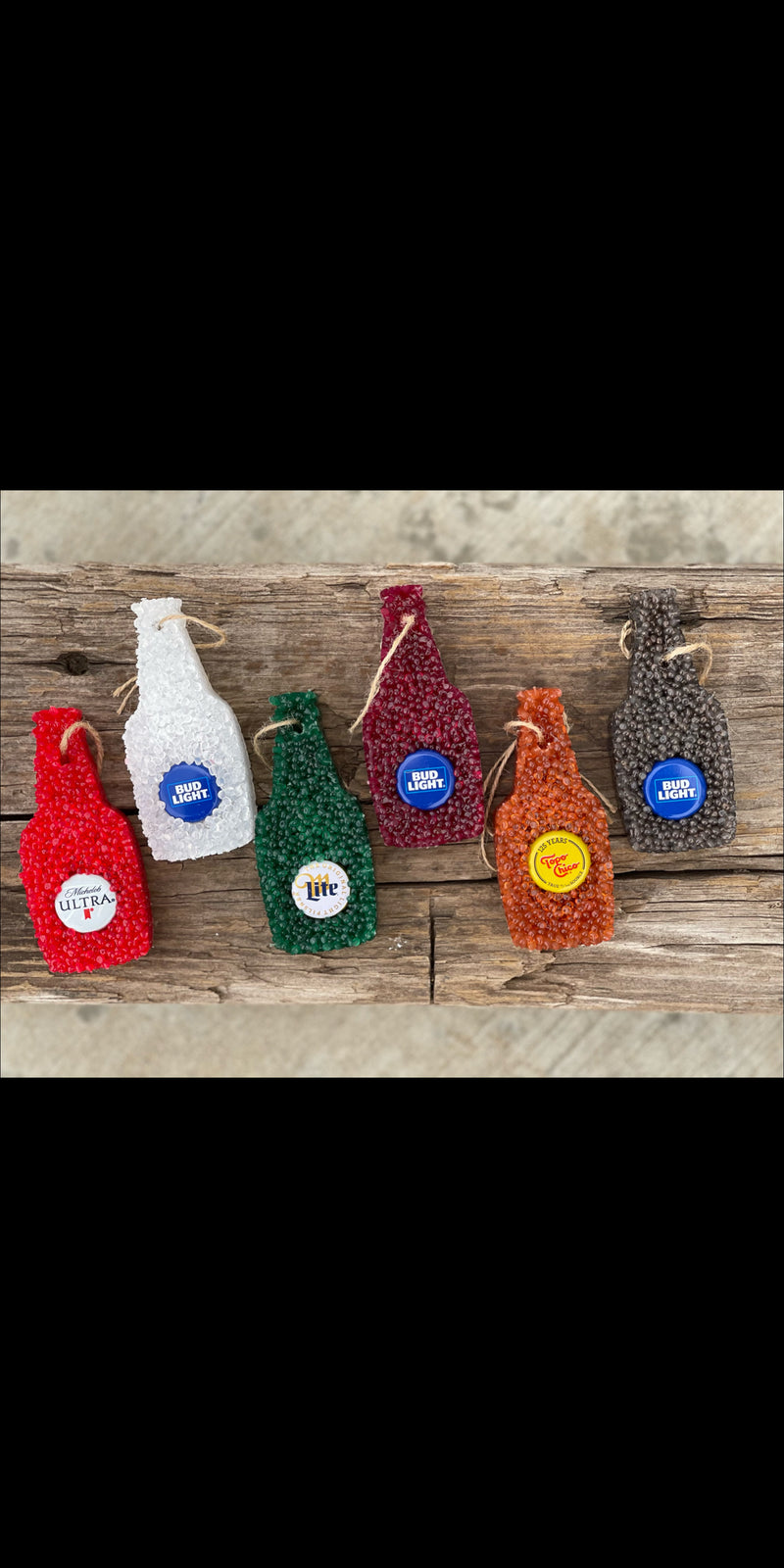 Beer Bottle Car Fresheners