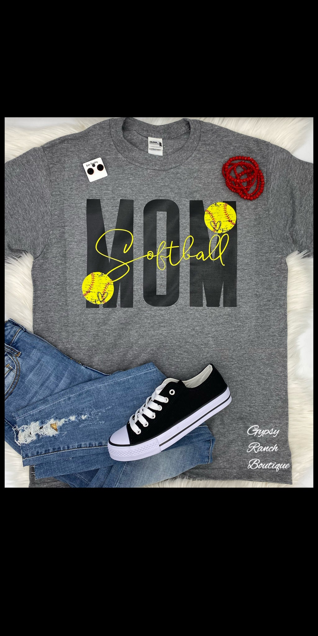 Softball MOM Top - Also in Plus Size