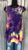 Unexpected Edge Tye Dye Tank Top - Also in Plus Size