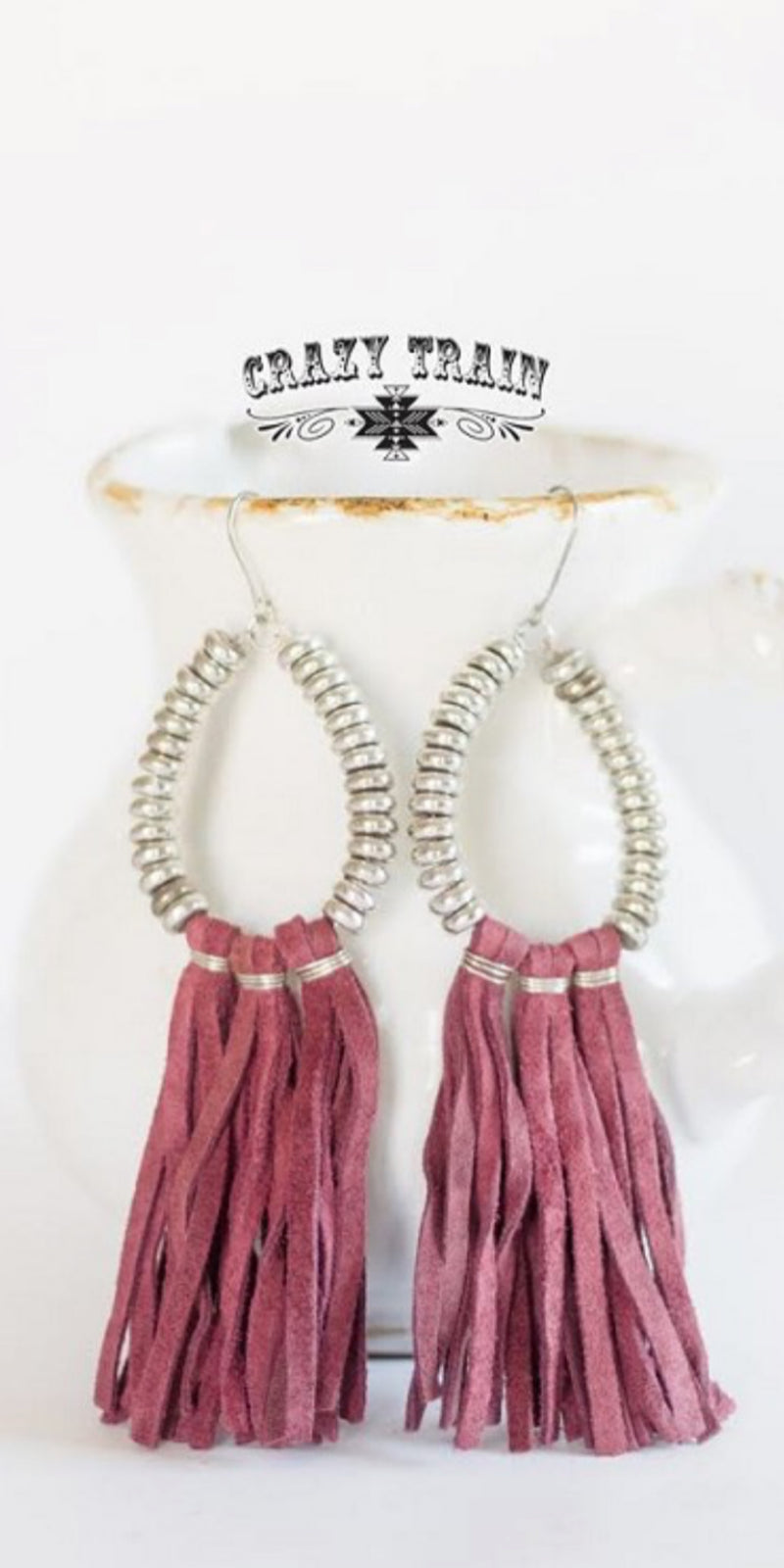 Rio Bravo Wine Earrings