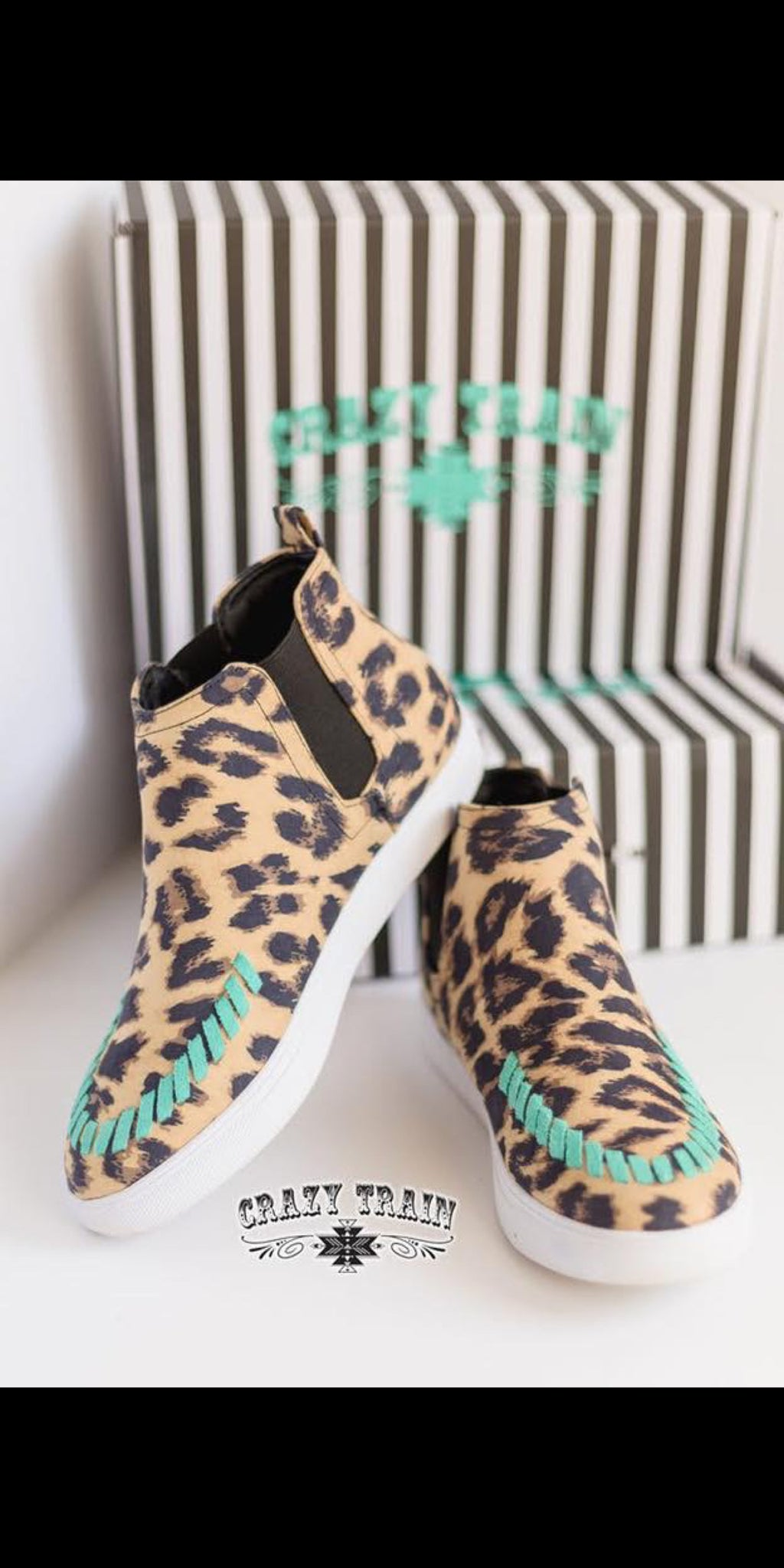 Uptown Stitch Leopard Shoes
