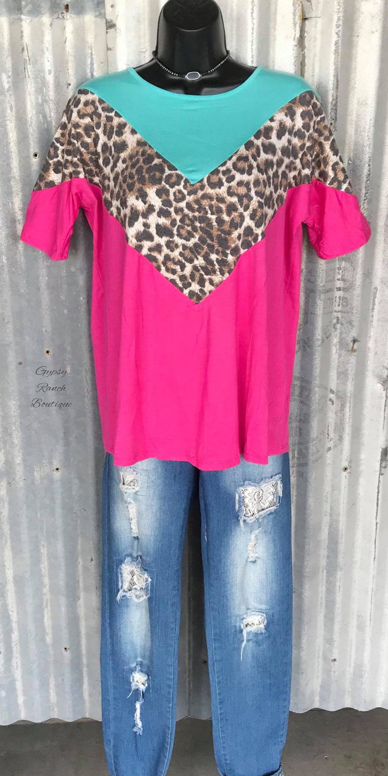 Lambert Leopard Top - Also in Plus Size