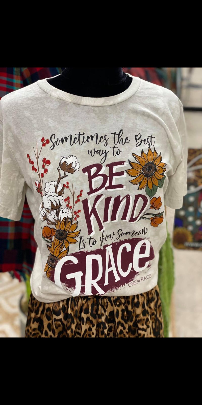 Be KIND & Show Someone GRaCE Top - Also in Plus Size