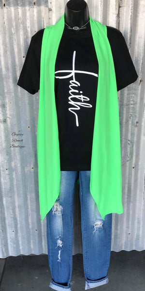 Margarita Lime Vest - Also in Plus Size