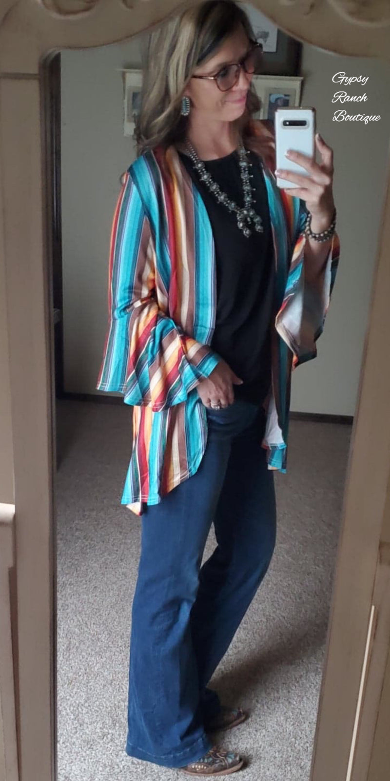 Mesa Serape Cardigan - Also in Plus Size