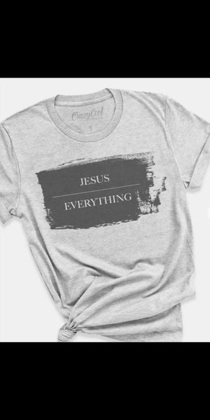 Jesus Over Everything Top - Also in Plus Size