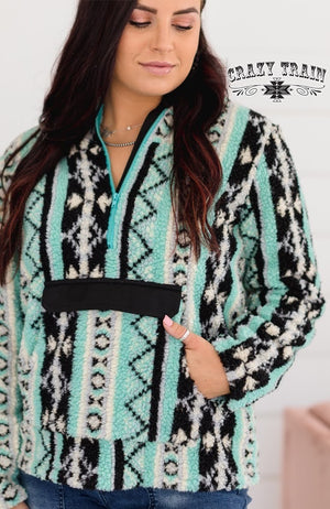 Bonfire Tribal Pullover Top - Also in Plus Size