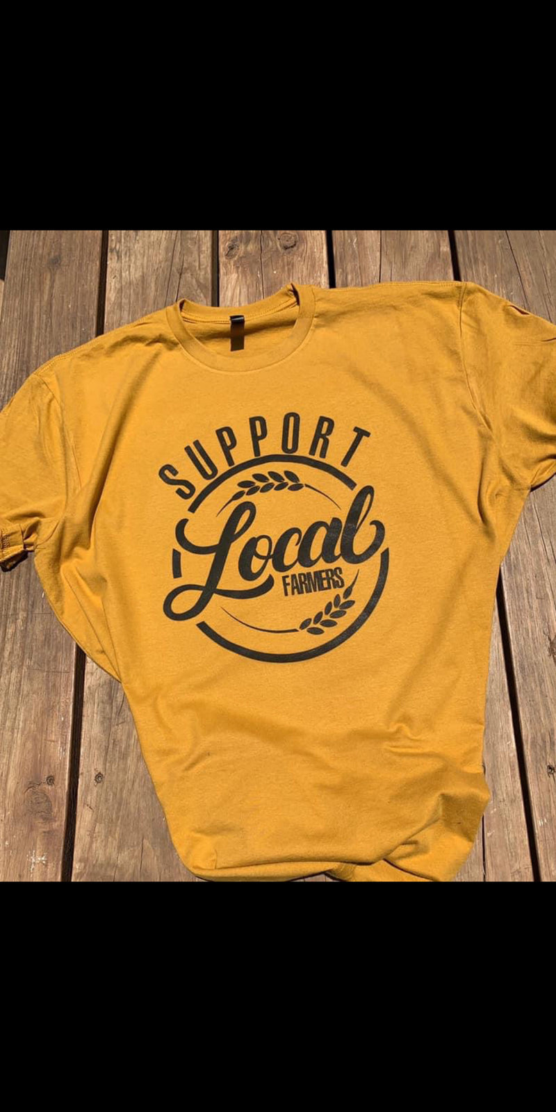 Support Local Farmers Top - Also in Plus Size