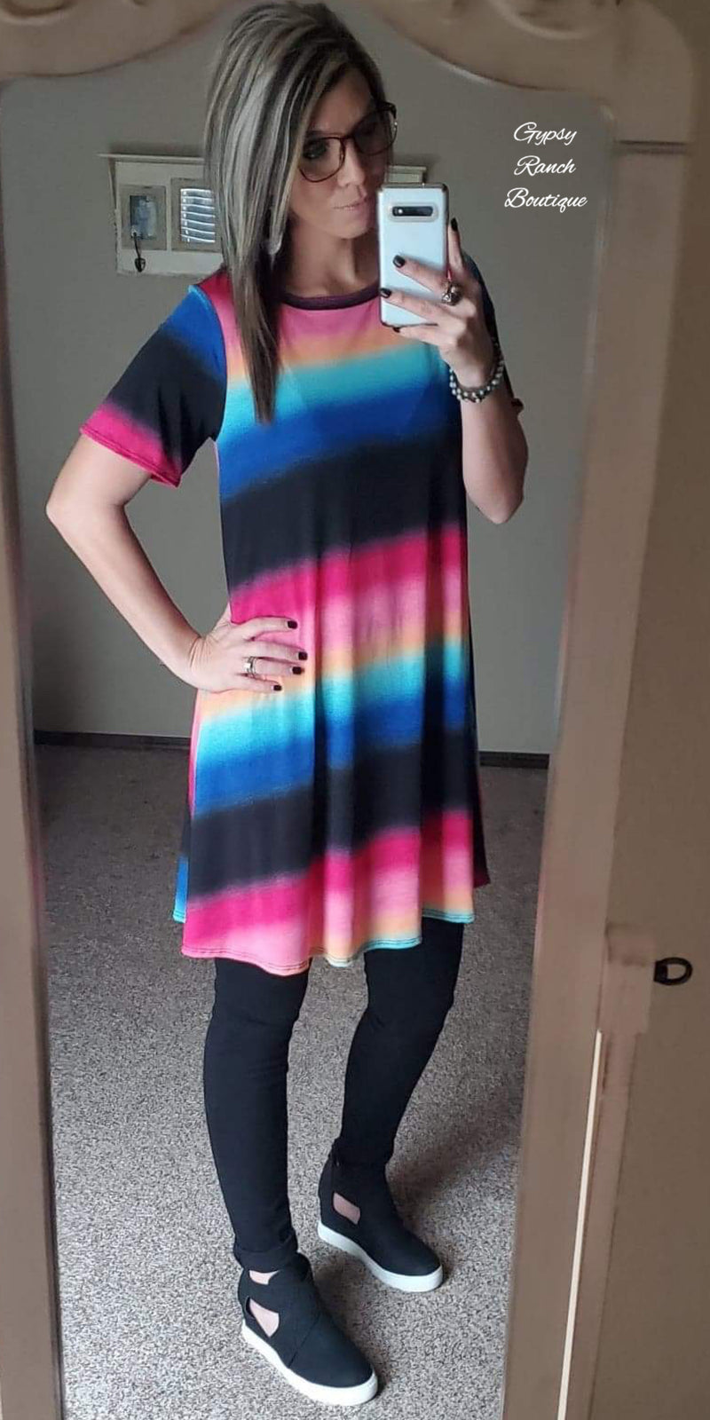Grove Serape Tunic Dress - Also in Plus Size