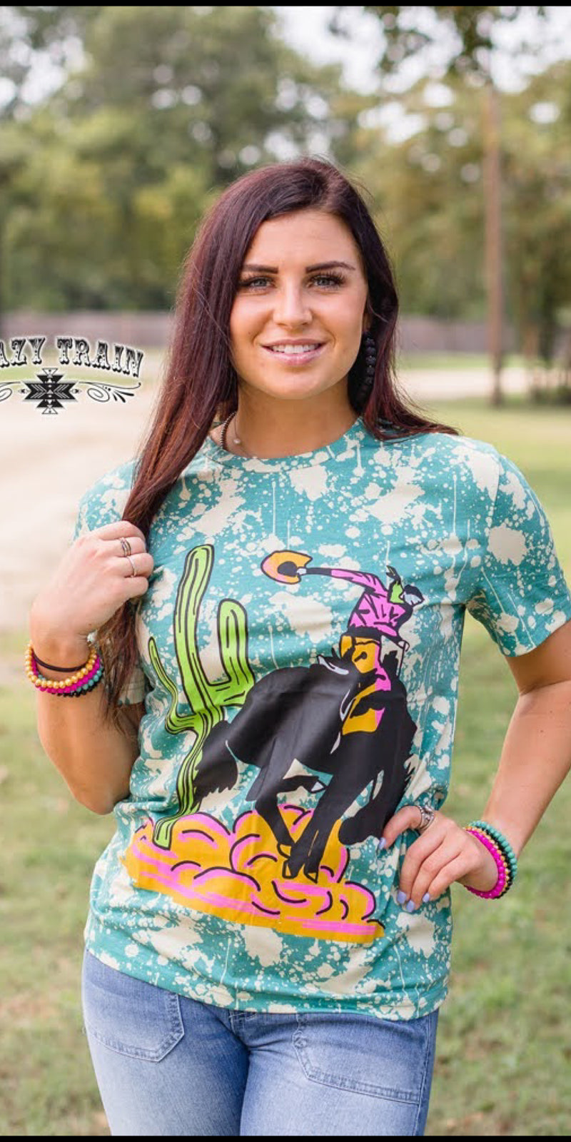 Young Gun Bronc Top - Also in Plus Size