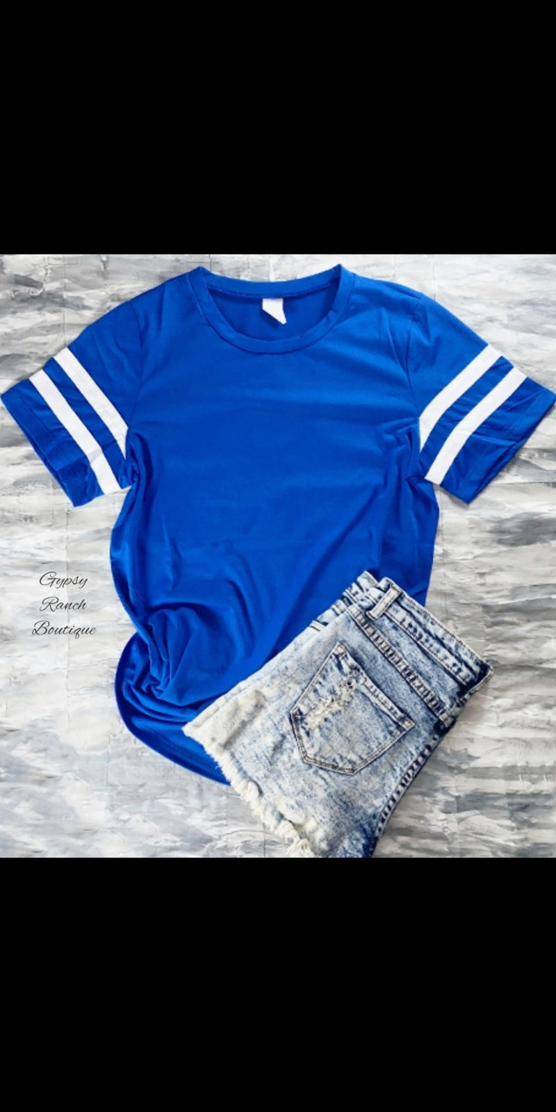 Varsity Blues Top - Also in Plus Size