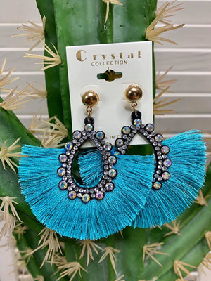 Treasure Island Tassel Earrings - Several Colors