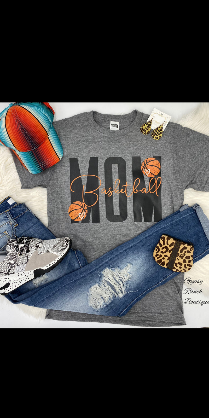 Basketball Mom Top - Also in Plus Size