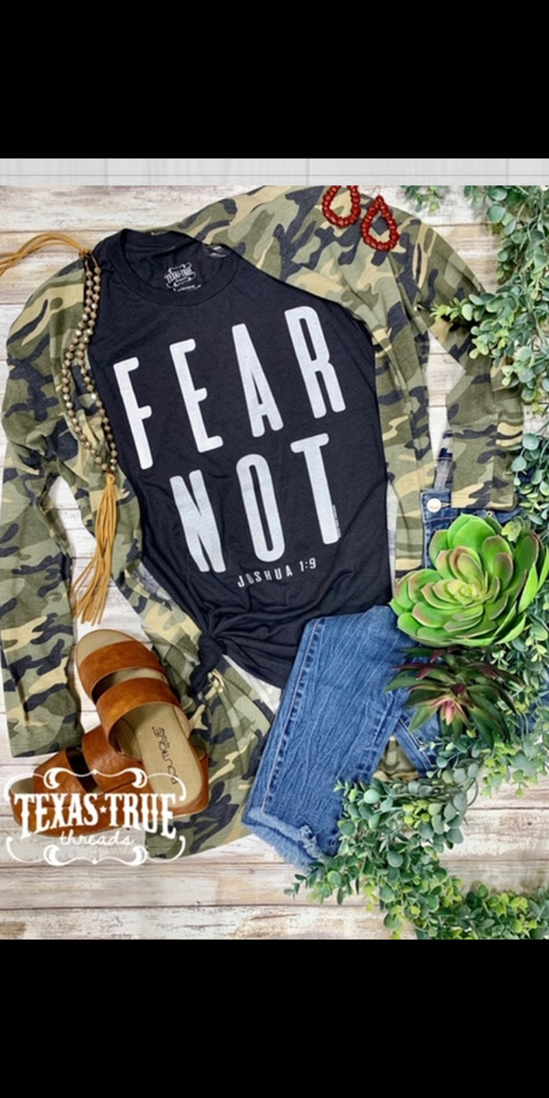 Fear Not Top - Also in Plus Size