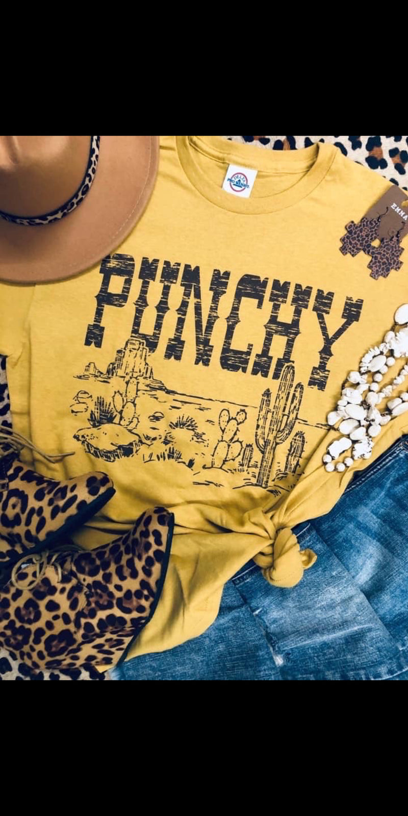 Punchy Cactus Top - Also in Plus Size