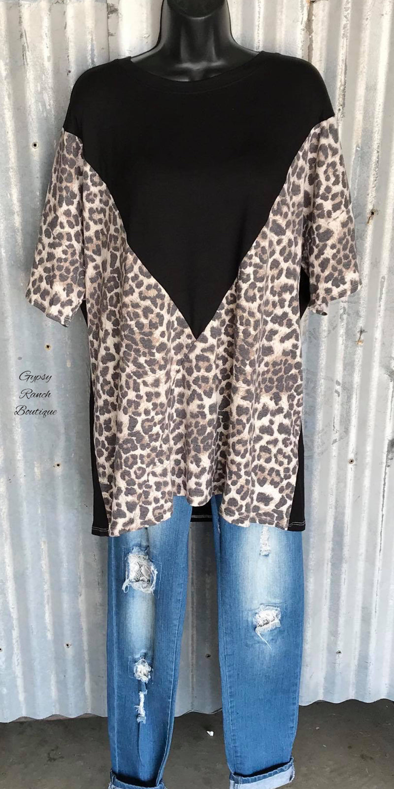 Caydence Leopard Top - Also in Plus Size