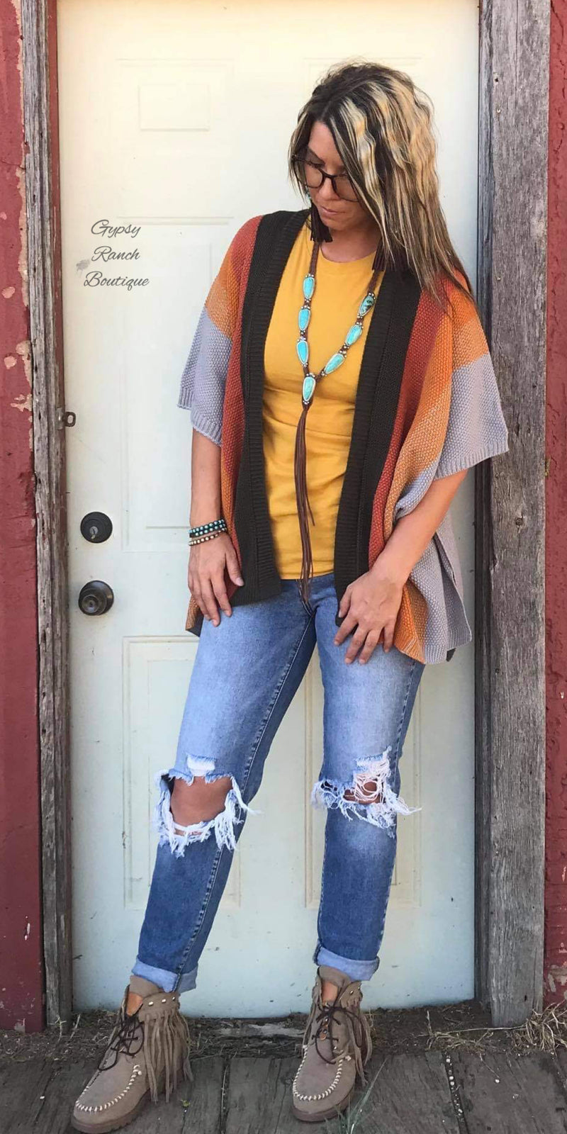 Harvest Breeze Cardigan - Also in Plus Size