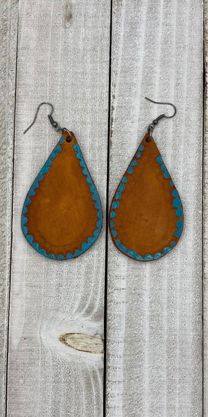Albuquerque Leather Earrings