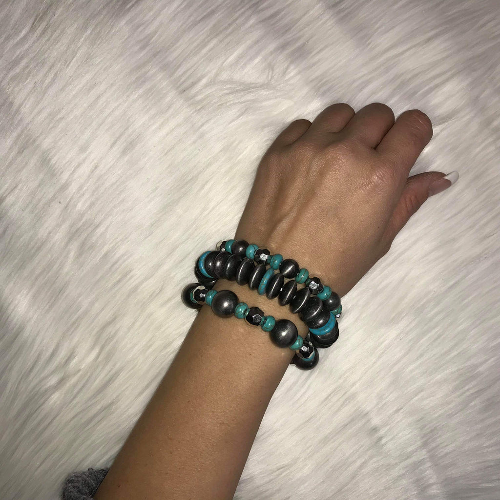 The Ashlee Turquoise Bracelet Set