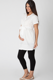 Ripe Ivory Pintuck Cotton Shirt