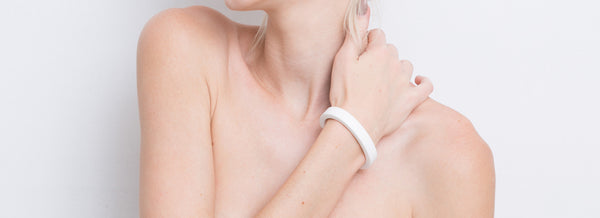 Lia Bracelet (White) - Mino Creations Jewellery
