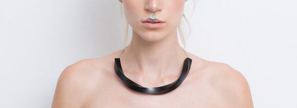 Aria Necklace (Black) - Mino Creations Jewellery