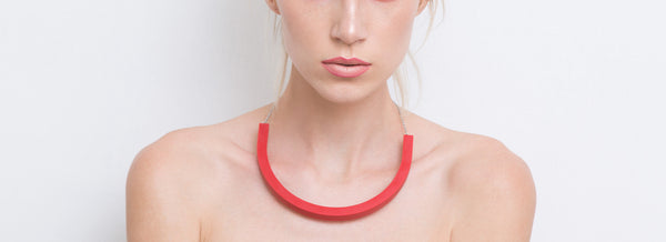 Cara Necklace (Red) - Mino Creations Jewellery