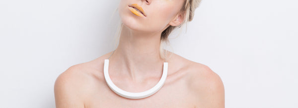Cara Necklace (White) - Mino Creations Jewellery