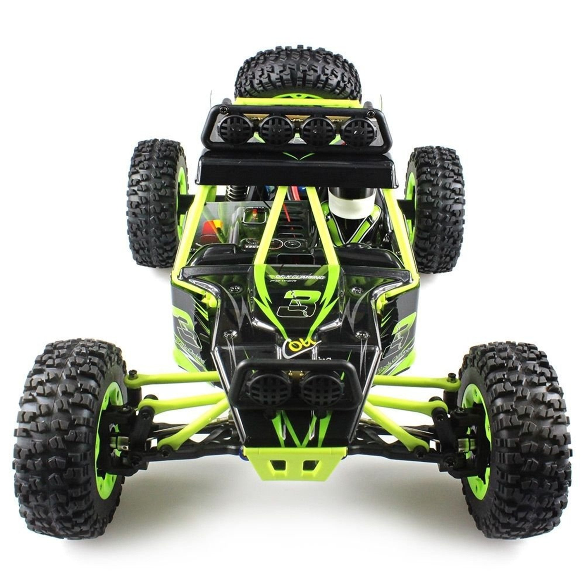 GizmoVine 12428 RC Cars Off-Road Rock Climber 1/12 High Speed 31 25mph 4WD  2 4Ghz Remote Control Truck Climber RC Climbing Cars RTR with LED Light