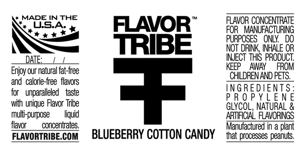 Blueberry Cotton Candy Flavor Concentrate