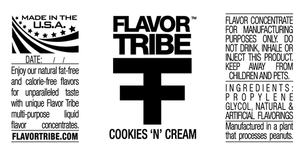 Cookies 'N' Cream Flavor Concentrate