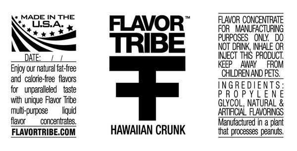 Hawaiian Fruit Punch Flavor Concentrate