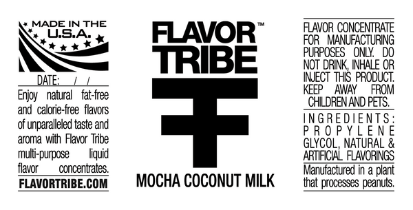 Mocha Coconut Milk Flavor Concentrate