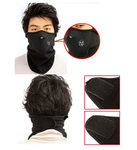 Cycling/Motor/Sport Warmer Half Face Mask (BLACK)