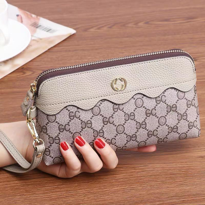 Leather Wristlet Purses for Women Designer Wristlet Wallet with Strap