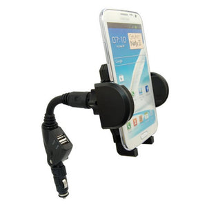 Car Charger + Holder