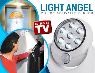 Light Angel Motion Activated Stick Up LED Outdoor Light