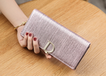 STYLIVVO Women Genuine Leather Wallet Large Capacity Clutch Wallet Card Holder Organizer Ladies Purse