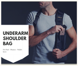 Nylon Hidden Underarm Shoulder Bag FBI Style Phone Bag Waist Packs [FBI-BAG]