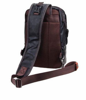 One Strap Backpack Sling Shoulder Bag Travel Rucksack